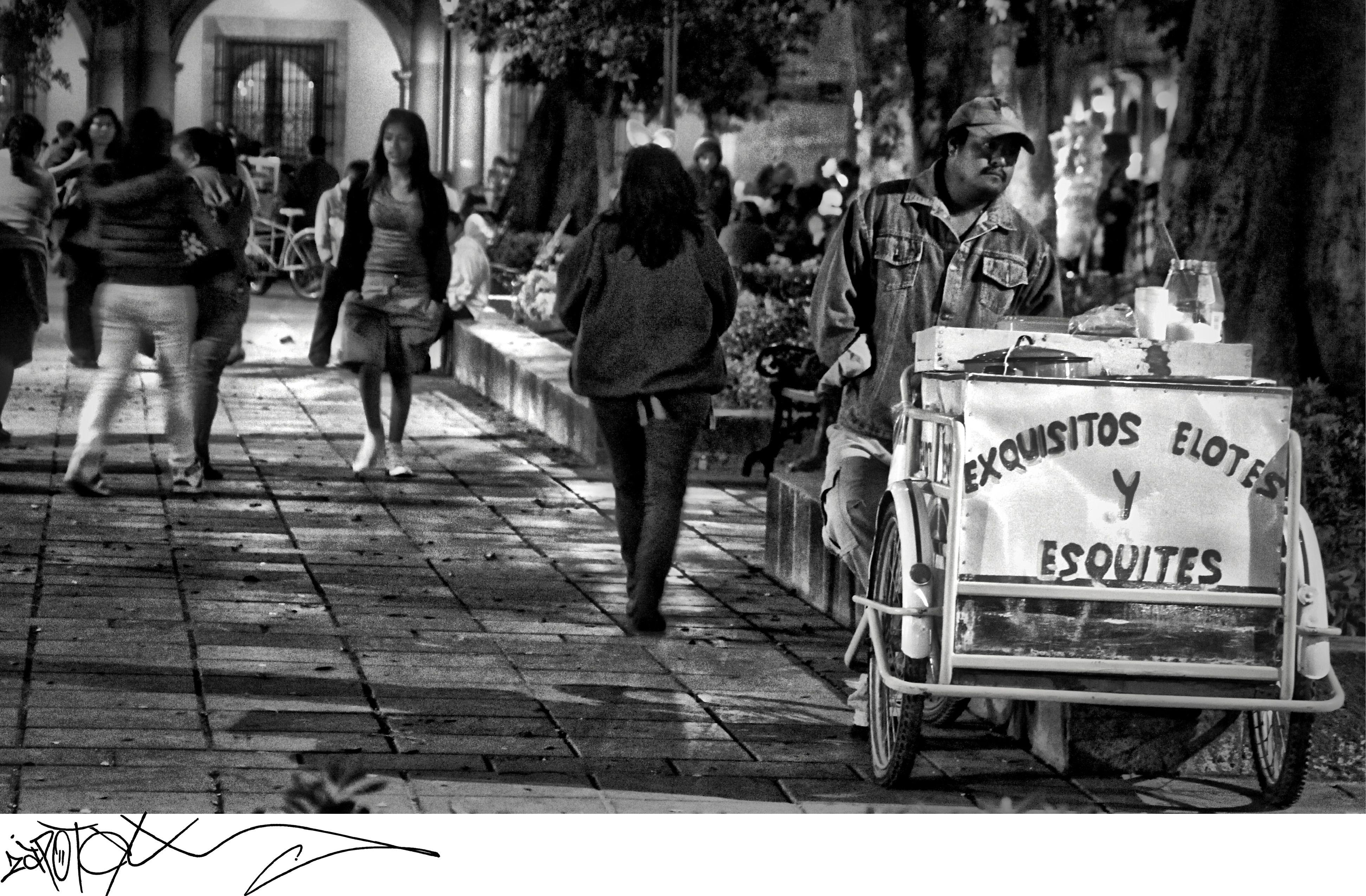 En el zocalo de #Oaxaca #Mexico