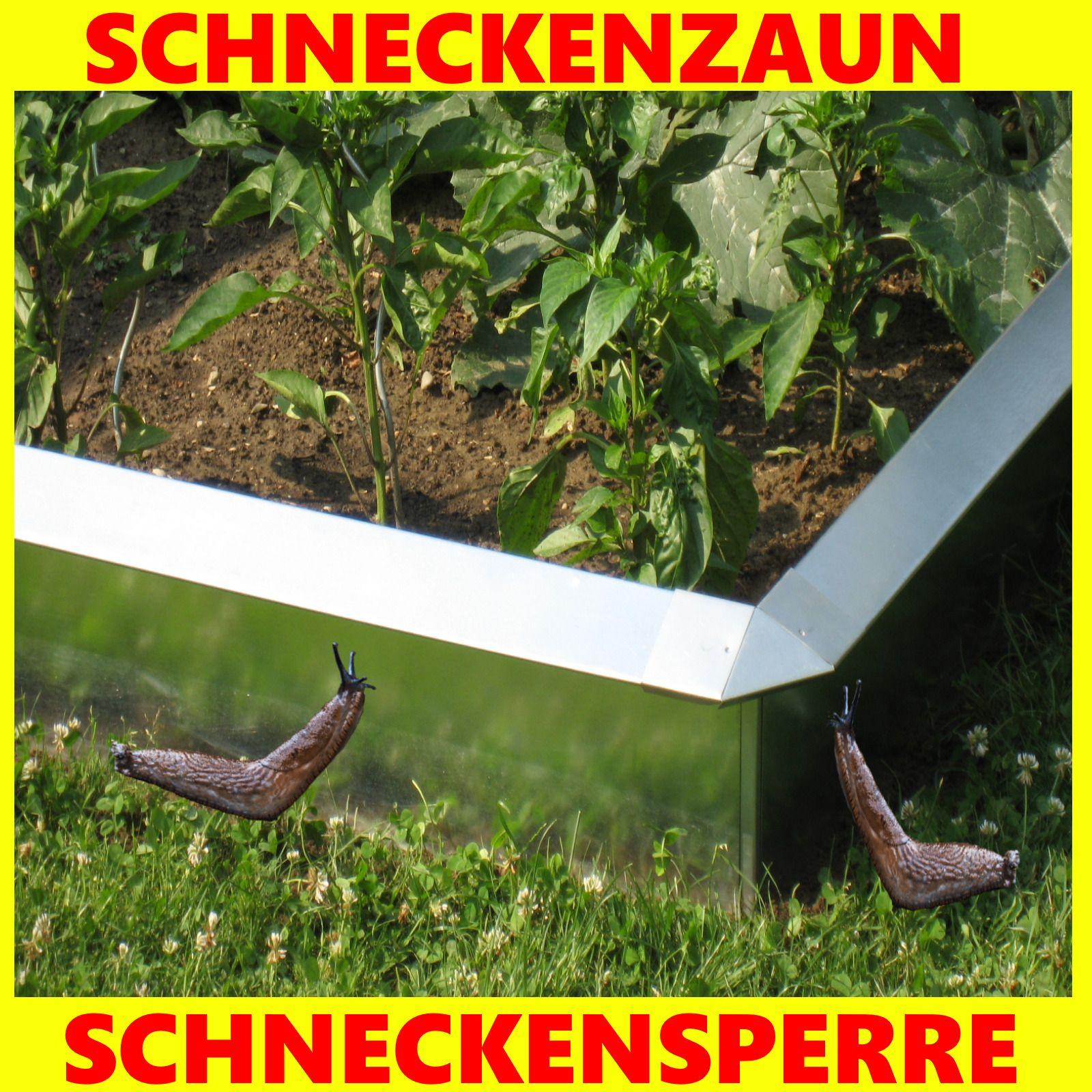 Schneckenzaun Schneckenstop Typ2 100 X 25 Cm Bewahrtes Produkt Schneckenzaun Schnecken Im Garten Schnecken