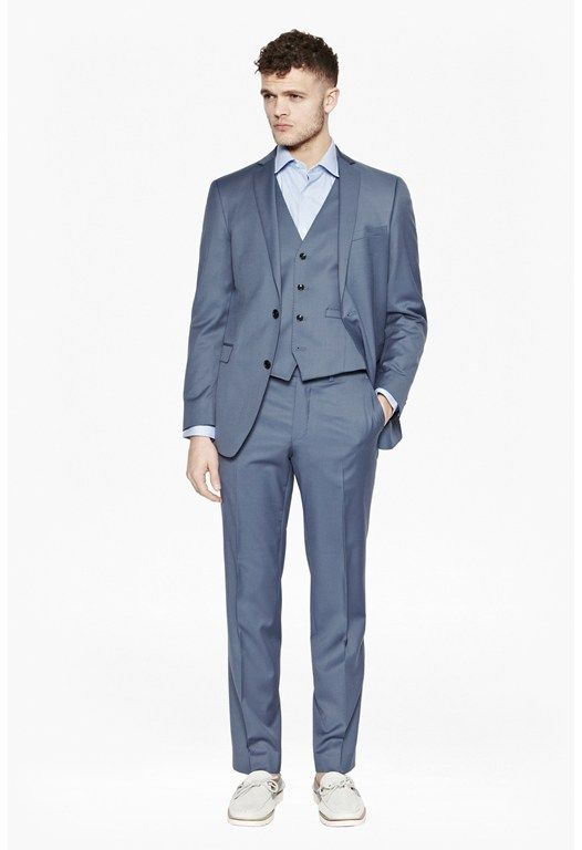 Powder Blue Three Piece Suit | WEDDING STYLE JOY WHAT | Pinterest ...