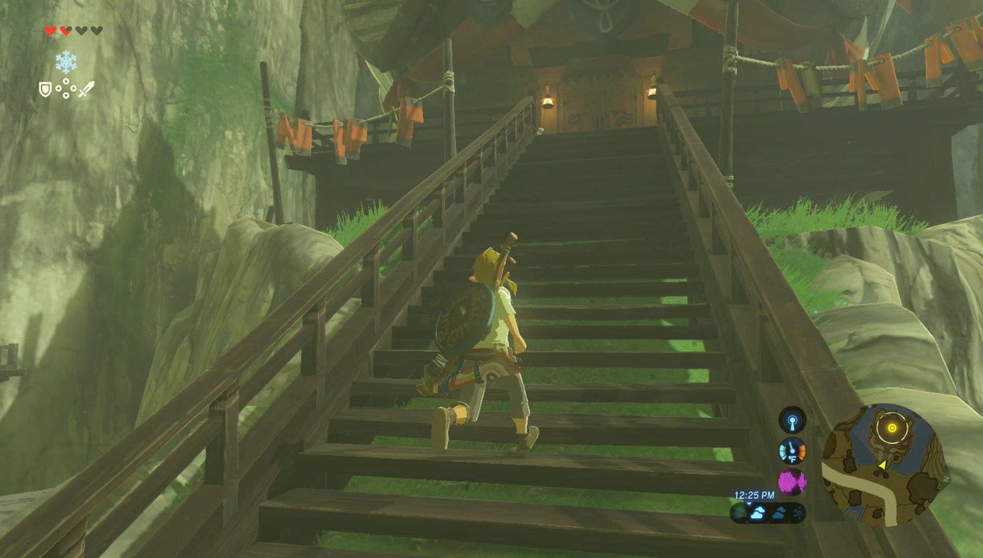 Breath Of The Wild Walkthrough Dueling Peaks Zelda Dungeon
