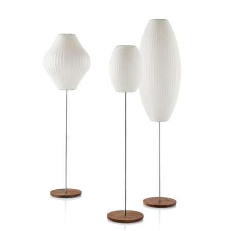 Nelson pear lotus floor lamp floor lamp george nelson and lotus nelson pear lotus floor lamp aloadofball Gallery