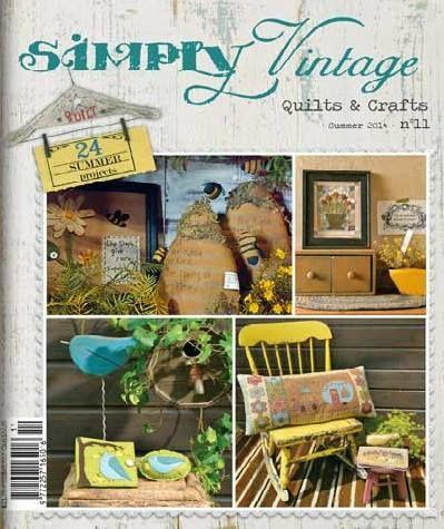 Revista Simply Vintage A La Venta En Quilting Dreams