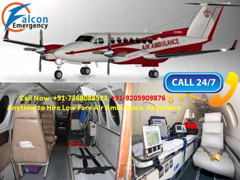 Air Ambulance Services in Mumbai and Chennai by Falcon