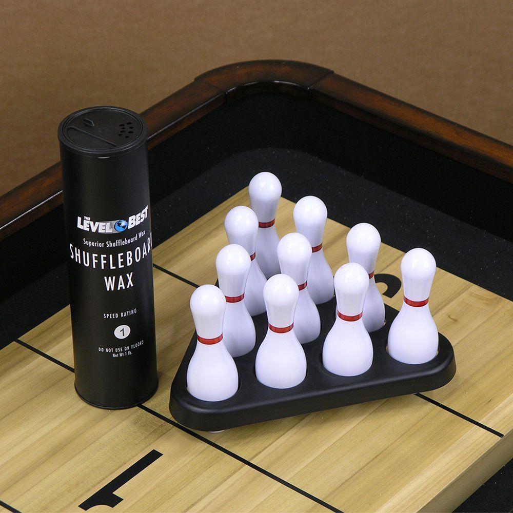 Shuffleboard Bowling Accessory Kit Sports