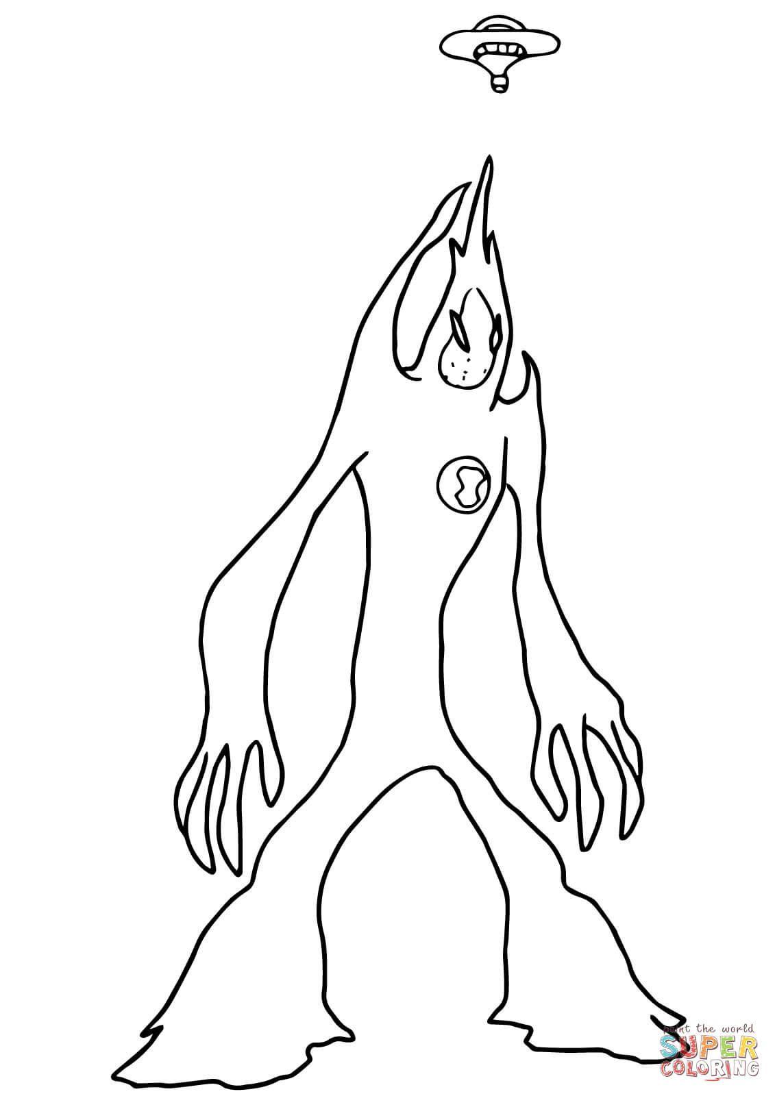 Dibujo De Ameba De Ben 10 Fuerza Alienigena Para Colorear Dibujos Para Colorear Imprimir Gratis Ben 10 Para Colorear Paginas Para Colorear Libro De Colores