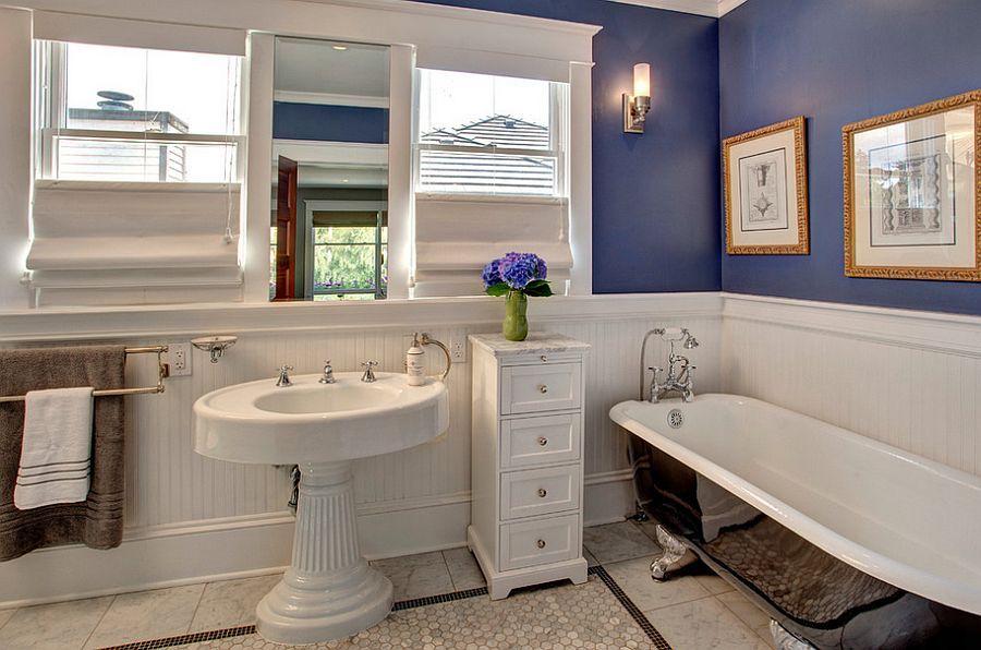 23 amazing purple bathroom ideas photos inspirations - Craftsman Bathroom Ideas