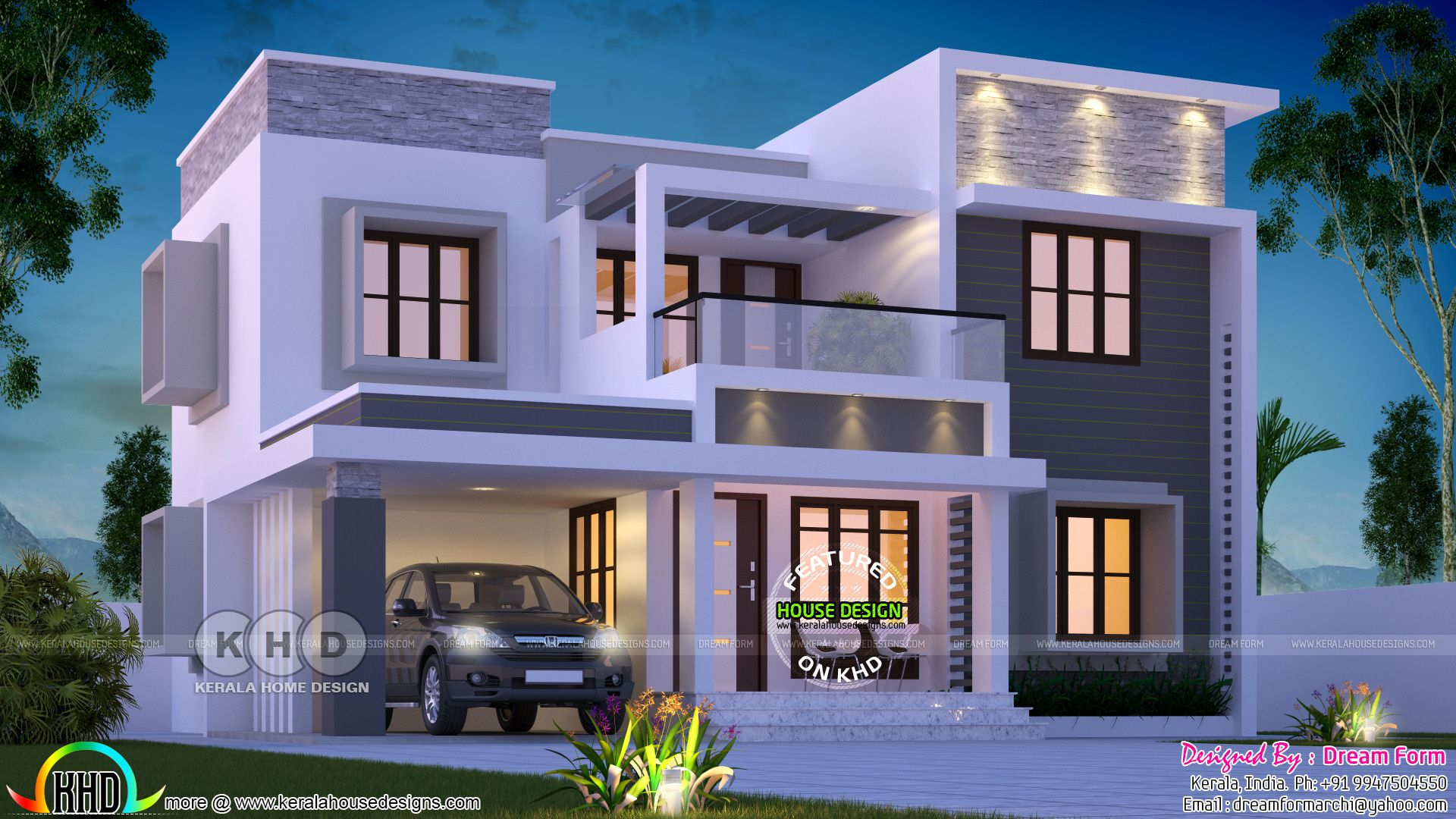 Discover Ideas About Flat Roof House Designs