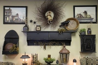 primitive country decor decorating visit thinking possible doing something close prim homes
