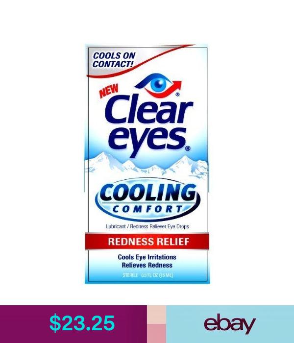 Clear Eyes Eye Drops Health Beauty Clear Eyes Eye Drops Cool Eyes