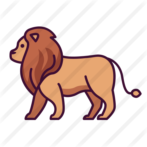 Lion Free Vector Icons Designed By Triberion Lion Icon Vector Icon Design Vector Icons