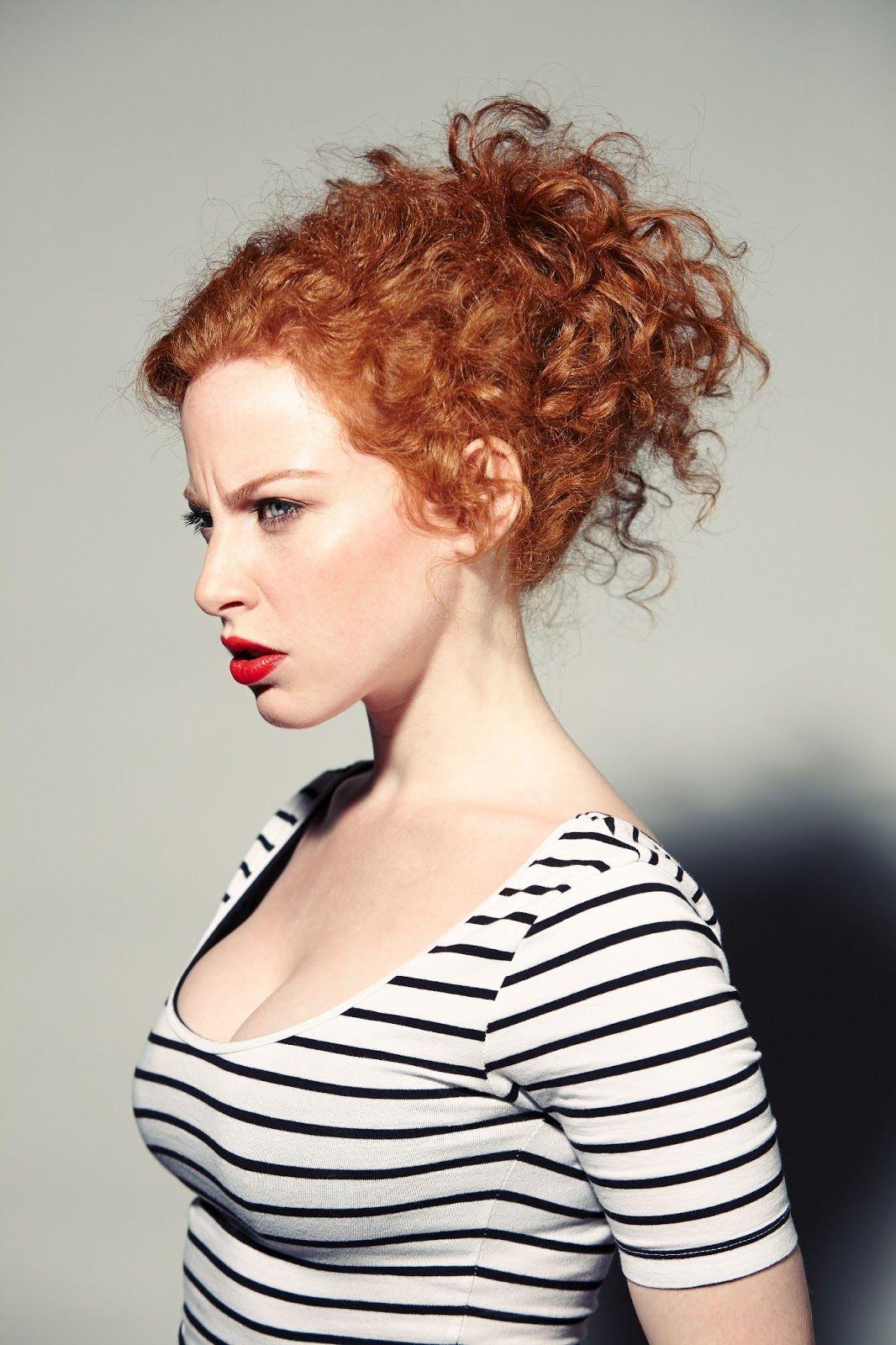 beautiful Sandy redhead