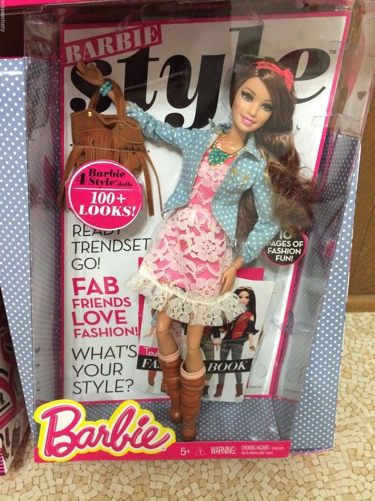 Barbie Life In The Dreamhouse Style 100+ Look 1st Wave Glam Luxe Teresa Doll #Mattel