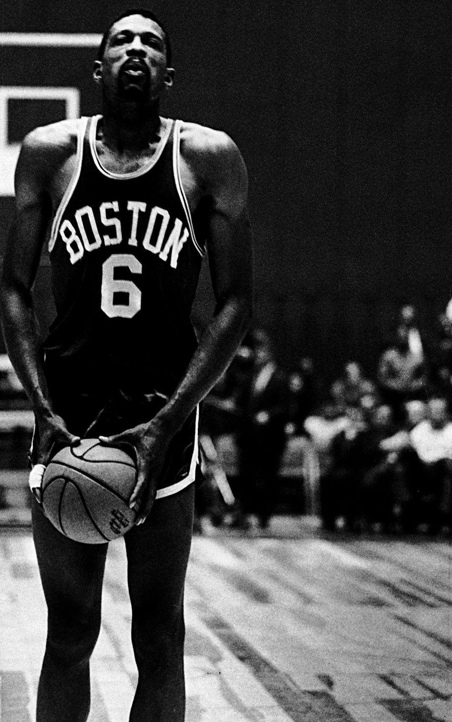 Bill Russell Rare NBA s Pinterest