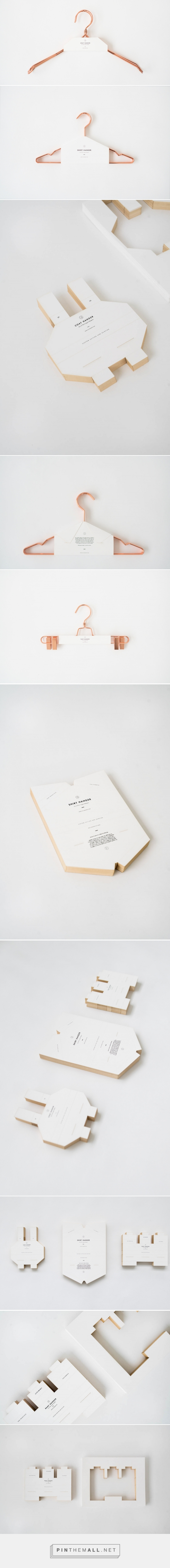 Tailors' Keep Hangers — The Dieline - Branding & Packaging Design - created via https://pinthemall.net