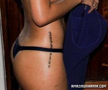 Ses Tatouages Amazing Rihanna Tatoos Tatouage