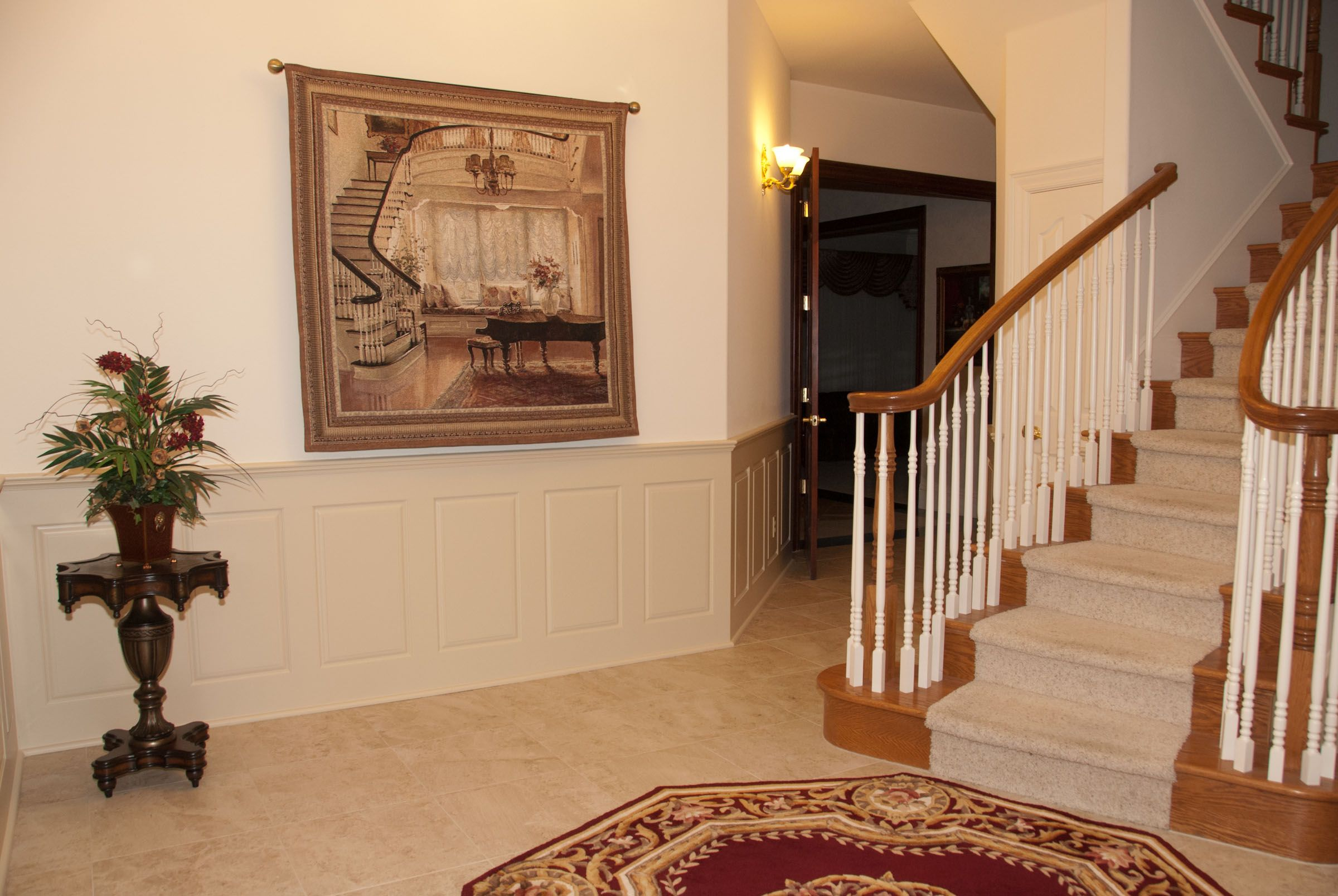 Installing #wood #paneling is a sure-fire way to heighten interest and increase marketability. #wainscoting