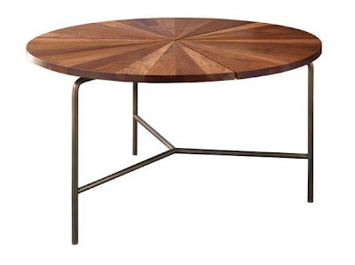 Circular Dining Table designed by Craig Bassam and Scott Fellows of BassamFellows in solid wood