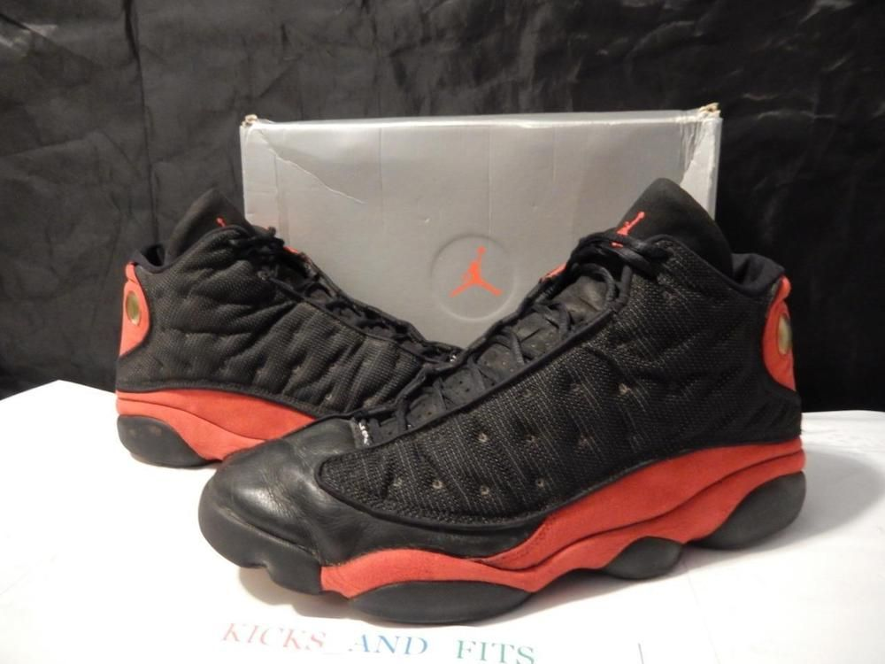 online store 6e6b4 f0cf2 VTG OG 1998 Nike Air Jordan XIII 13 Bred size 17 with Original Box not  retros  Nike  AthleticSneakers