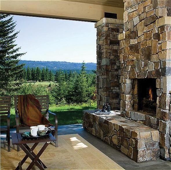 Outdoor Fireplace Outdoor Fireplaces Best Weekend Getaways