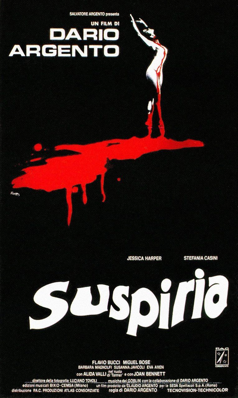 The 50 Greatest Horror Movie Posters Of All Time Suspiria Film
