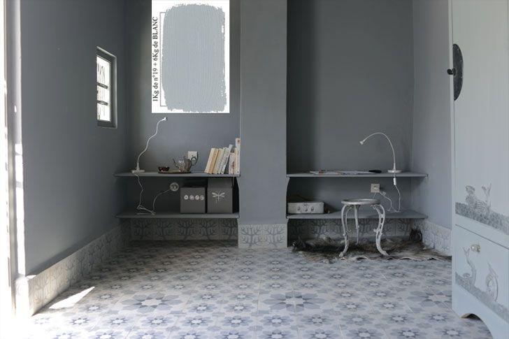 Emery & cie - Paints - Matt Paints - Examples - Interiors - Gris - Page 02