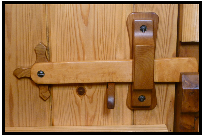 Pin On Door Latches