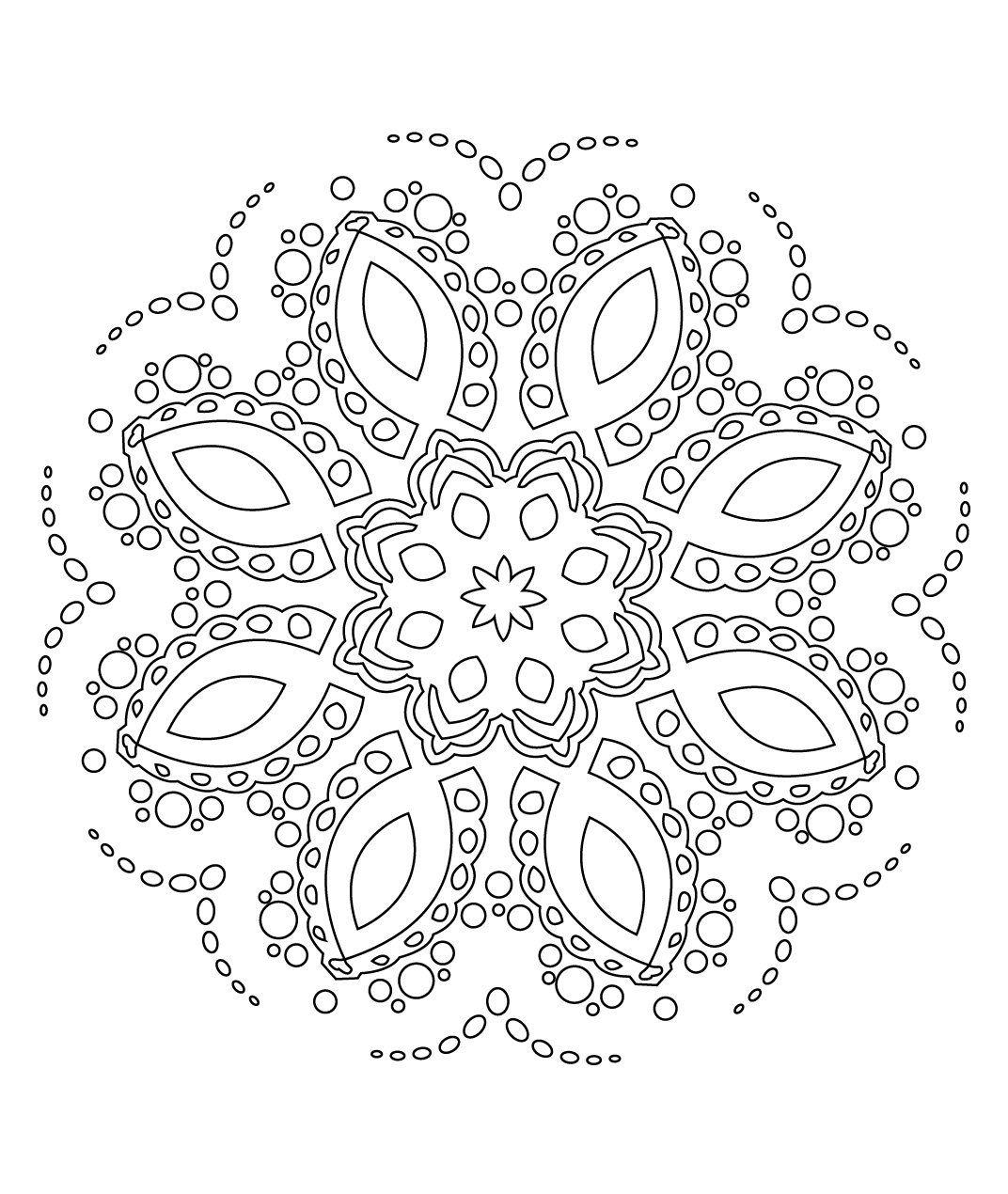 Stci coloriage pour adultes et enfants mandalas zabou et ses mandalas mandala coloriage - Mandalas a colorier pour adultes ...