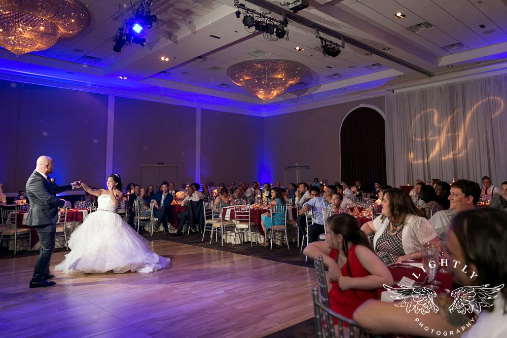 First Dance At Piazza In The Village Lightly Photography Romantic Wedding Photo Inspi Wedding Venues Texas Luxury Wedding Venues Ballroom Wedding Reception