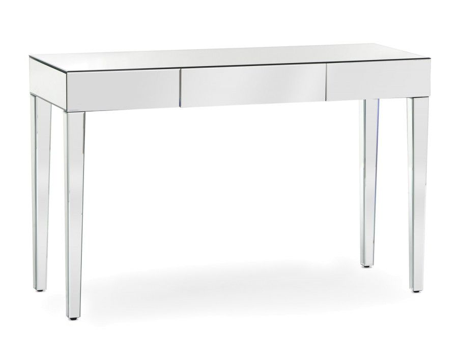 Mirage Mirrored Console Table Mirrored Coffee Tables Living
