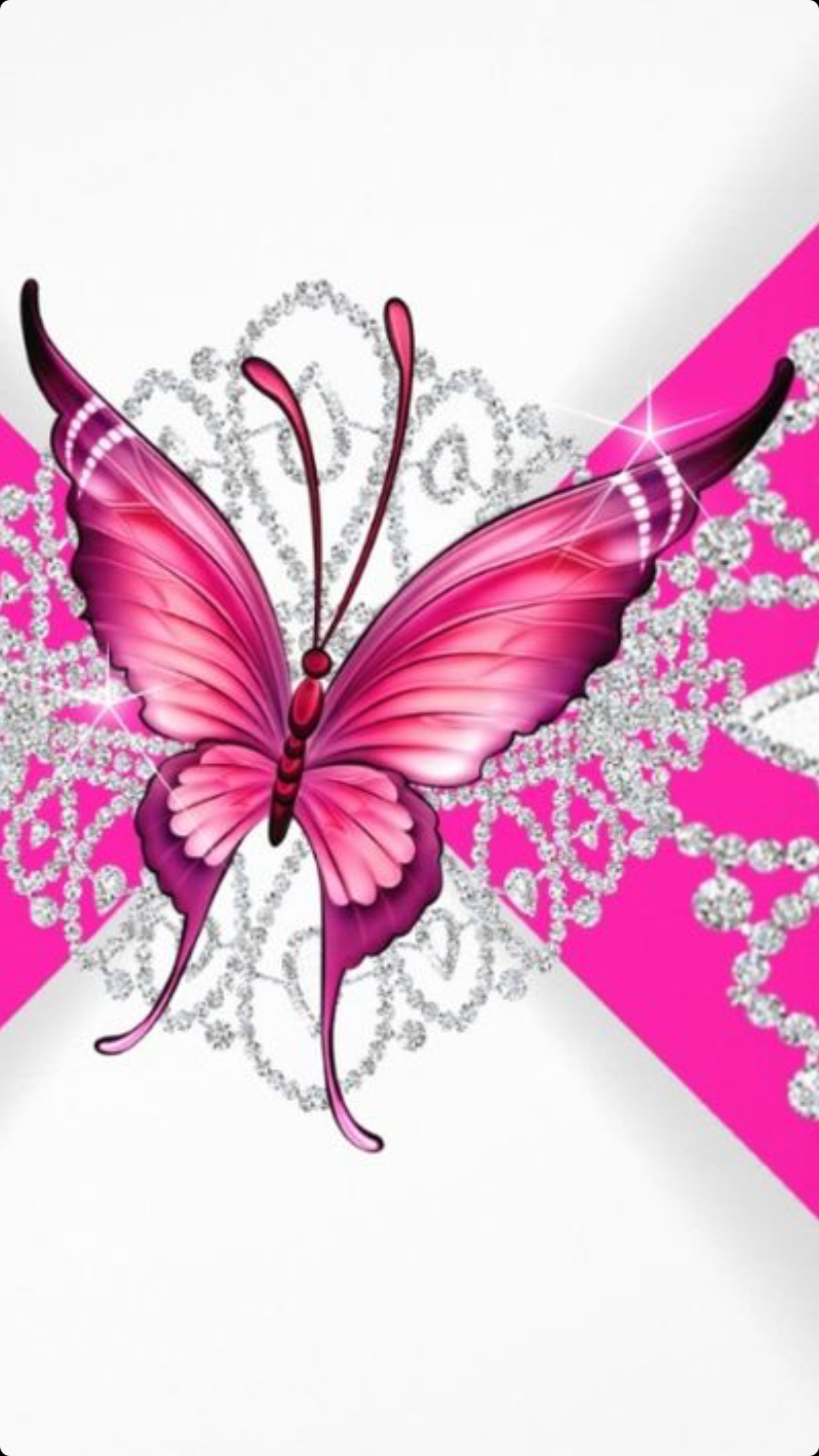 8271d4e8d276a41b09d1f375eb2bea6a png 1242 2208 pink butterfly