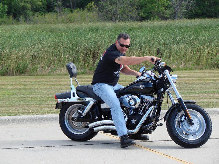 Joe from Rescue Ink TV Show. He was here from New York for a Charity Ride for Heinz 57 Animal Rescue.
