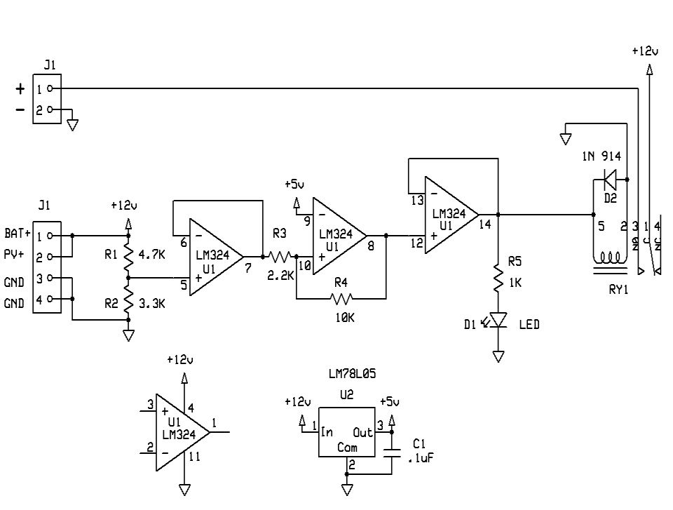 solar charge controller circuit diagram the wiring diagram on simple electric schematic diagram