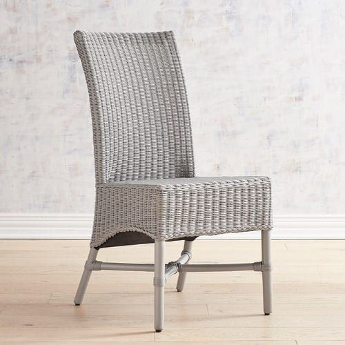 Gray Rattan Dining Chairs Ergonomic Chair Head Support Warna Kitchen Keep It Casual And Classic With Our Hand Woven Skirted Seat The Simple Modern Silhouette In A Versatile Gives You Endless