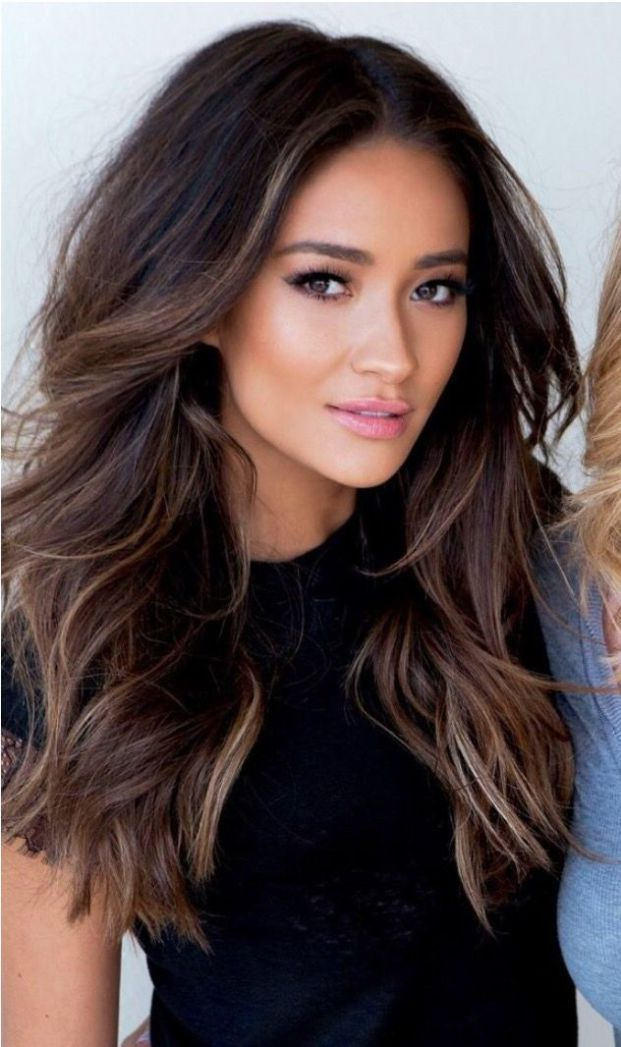 beautiful brunette hair color trends