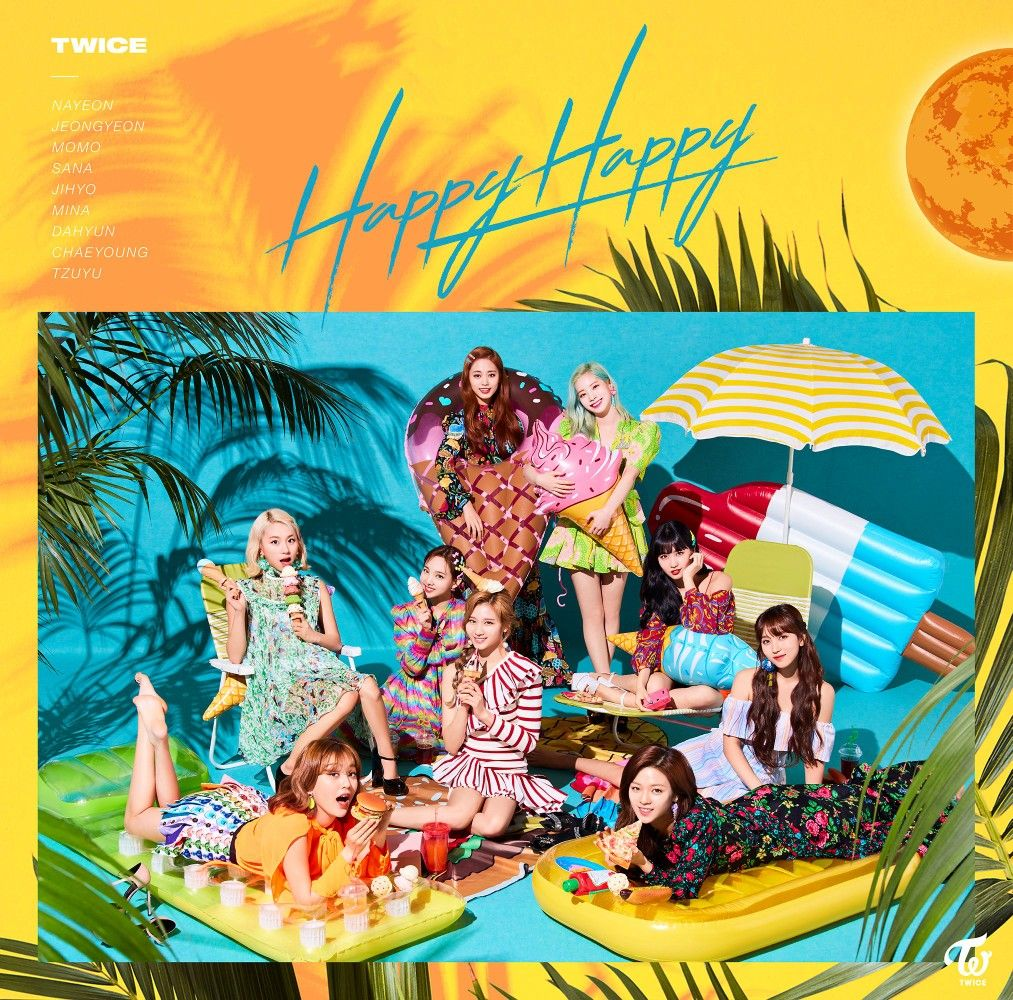 Happy Happy | TWICE in 2019 | Twice members profile, Extended play