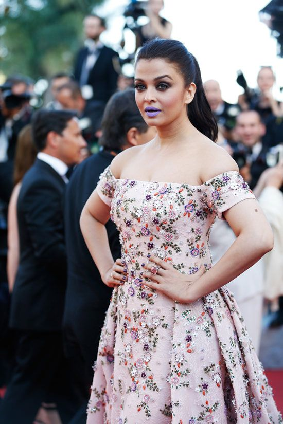 Image result for aishwarya rai in cannes film festival 2016