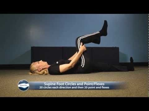 egoscue  exercises for foot and ankle pain  ankle pain