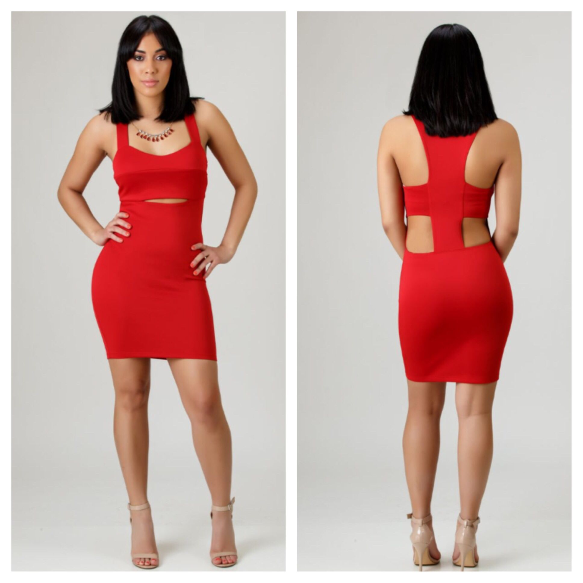 Red fox cutout dress style pinterest cutout dress dresses and