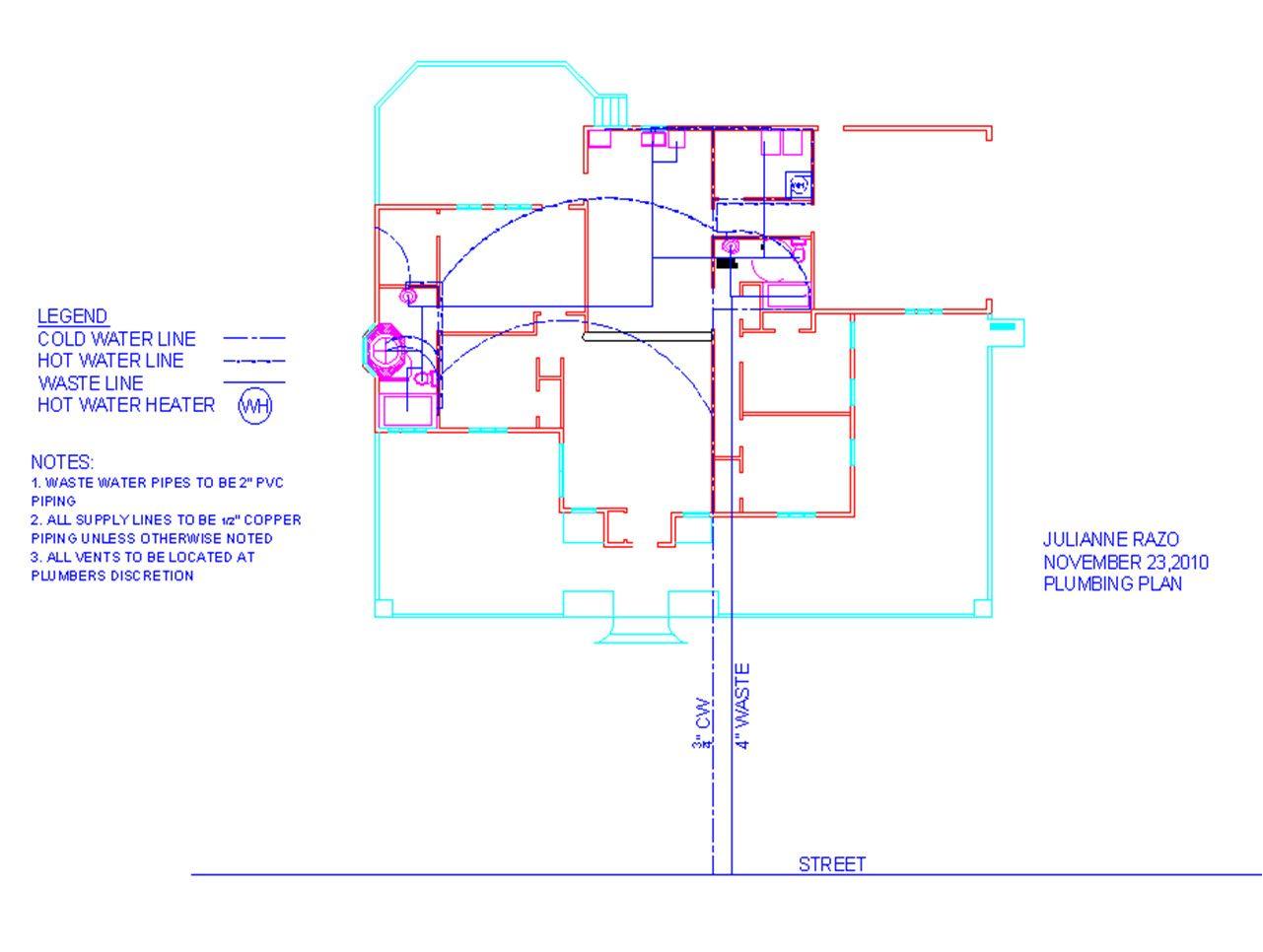 Plumbing Plan Building Science Pinterest House Bright Residential Plans House Design Industrial Decor Living Room Design