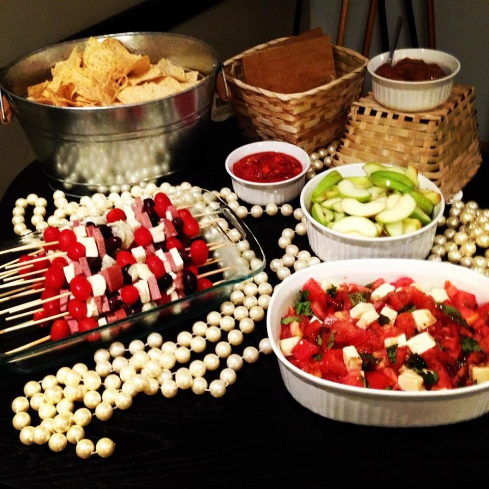 how to decorate for an office party wedding shower party food
