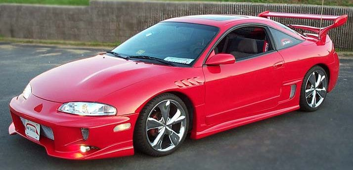 1999 mitsubishi eclipse 2 dr gsx turbo awd hatchback pic. Black Bedroom Furniture Sets. Home Design Ideas