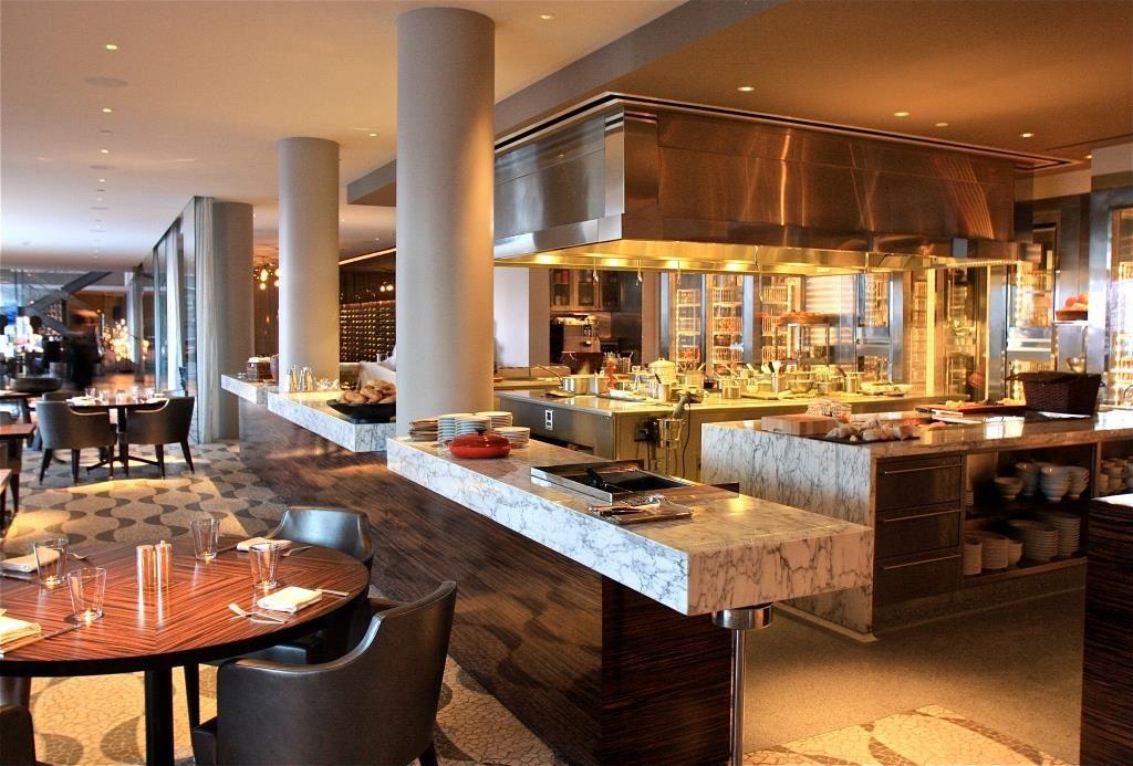 pin open kitchen restaurant design luma park avenue