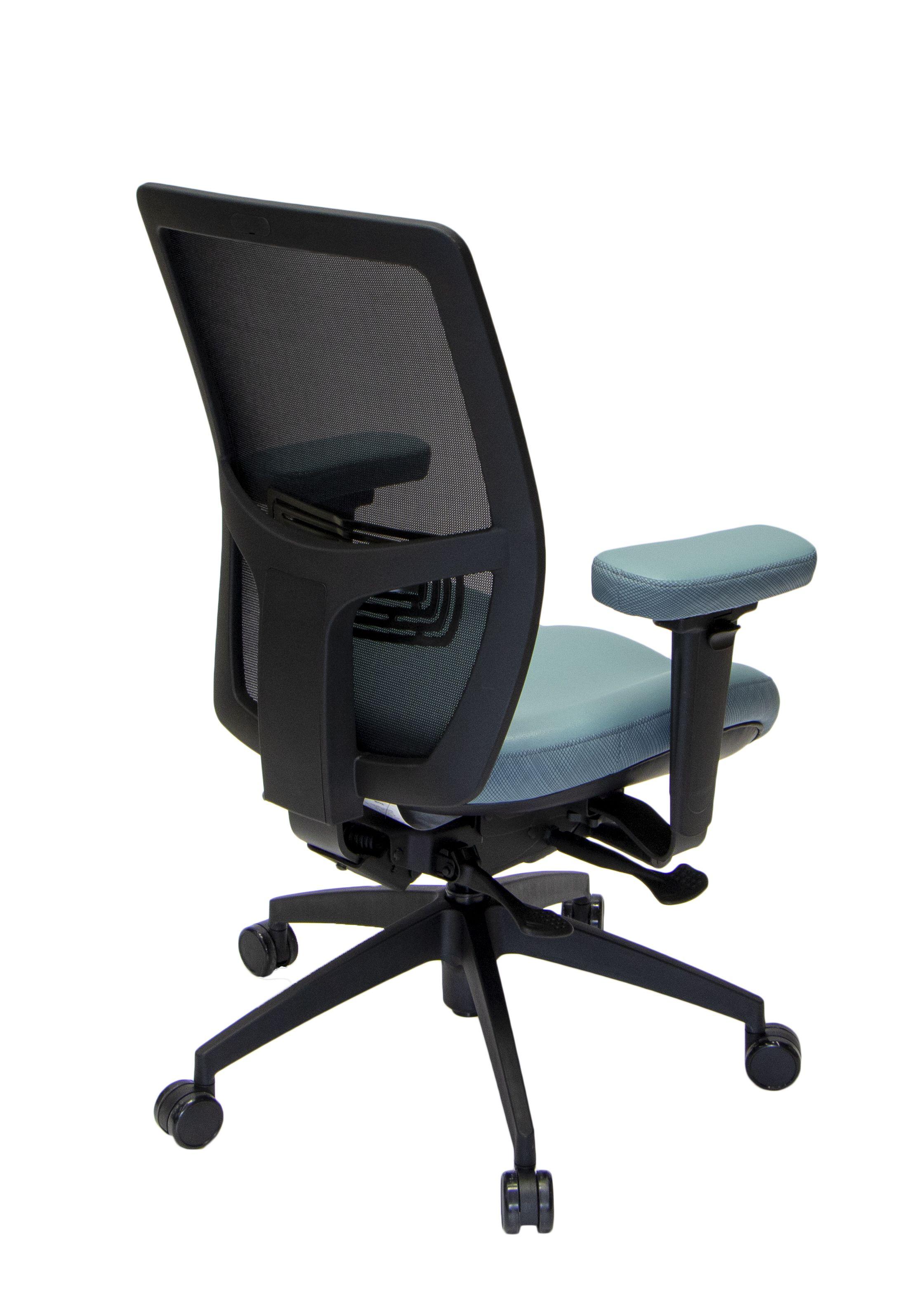 LIFEFORM Mesh Back Desk Chair. Full Function Ergonomics