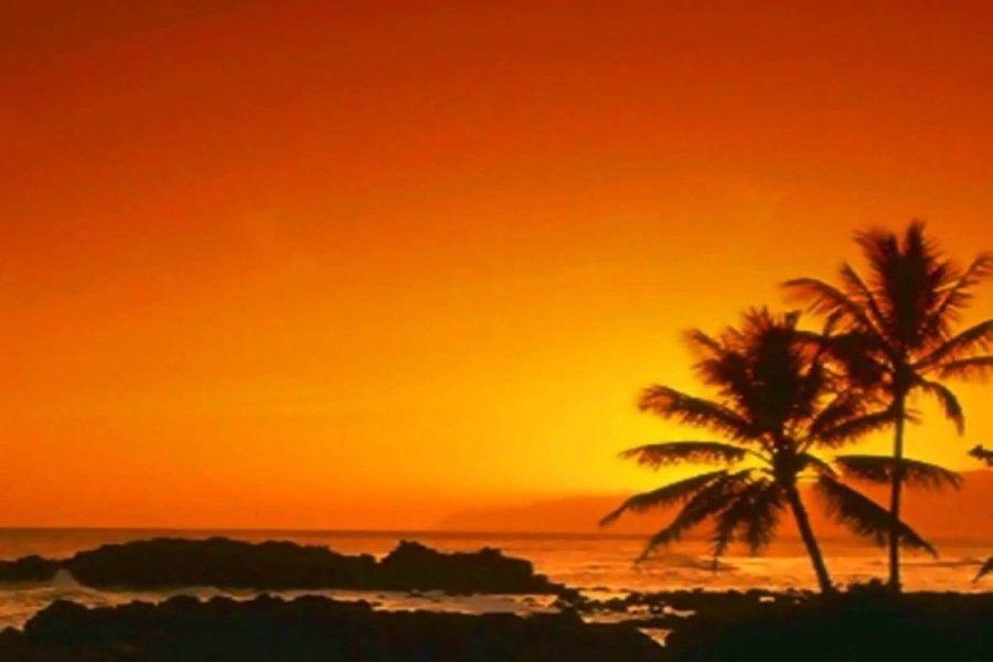 Mystical Island Paradise Sunset Picture and Photo | Imagesize: kilobyte