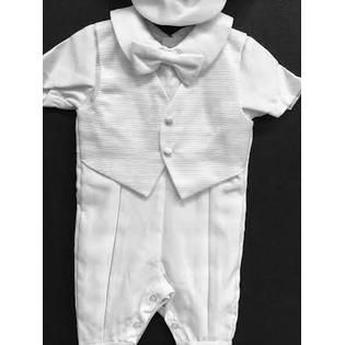 a3050f28e Angel Baby Boy Tuxedo Christening Baptism outfit CAP/XS/S/M/L/XL/0-3M/3-6M/6-12M/12-18M/18-24M/XSMALL/SMALL/MEDIUM/LARGE/XLARGE/2216NJ  at Sears.com
