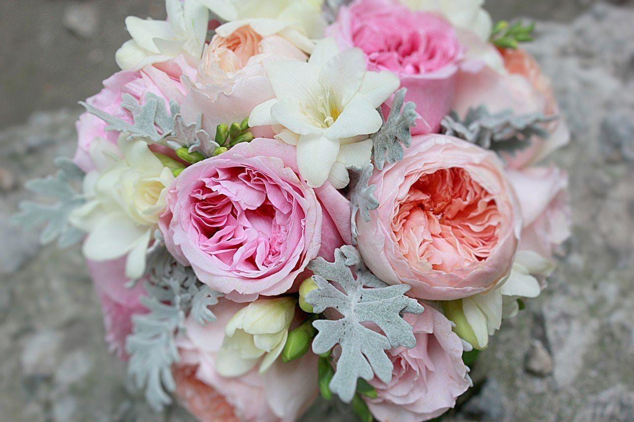 Букет английских роз, составлению букетов живых