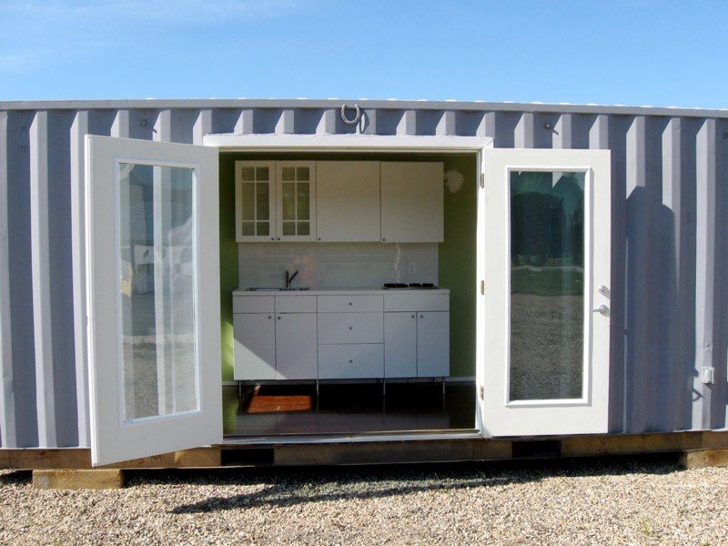 Daniel Sokol S Leed Container Cabins Container House Plans Container House Shipping Container House Plans