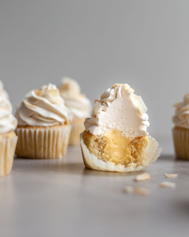Photo of Vegan Coconut Cream Cupcakes – Crumbs & Caramel