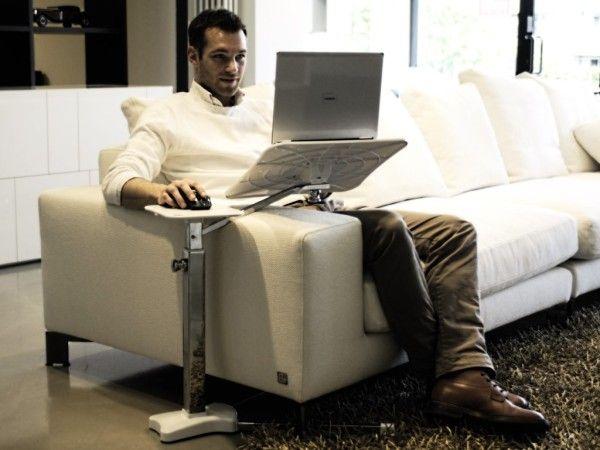 The best laptop stand for armchairs sofa chaise longue furniture pinterest escritorios - Soporte portatil sofa ...