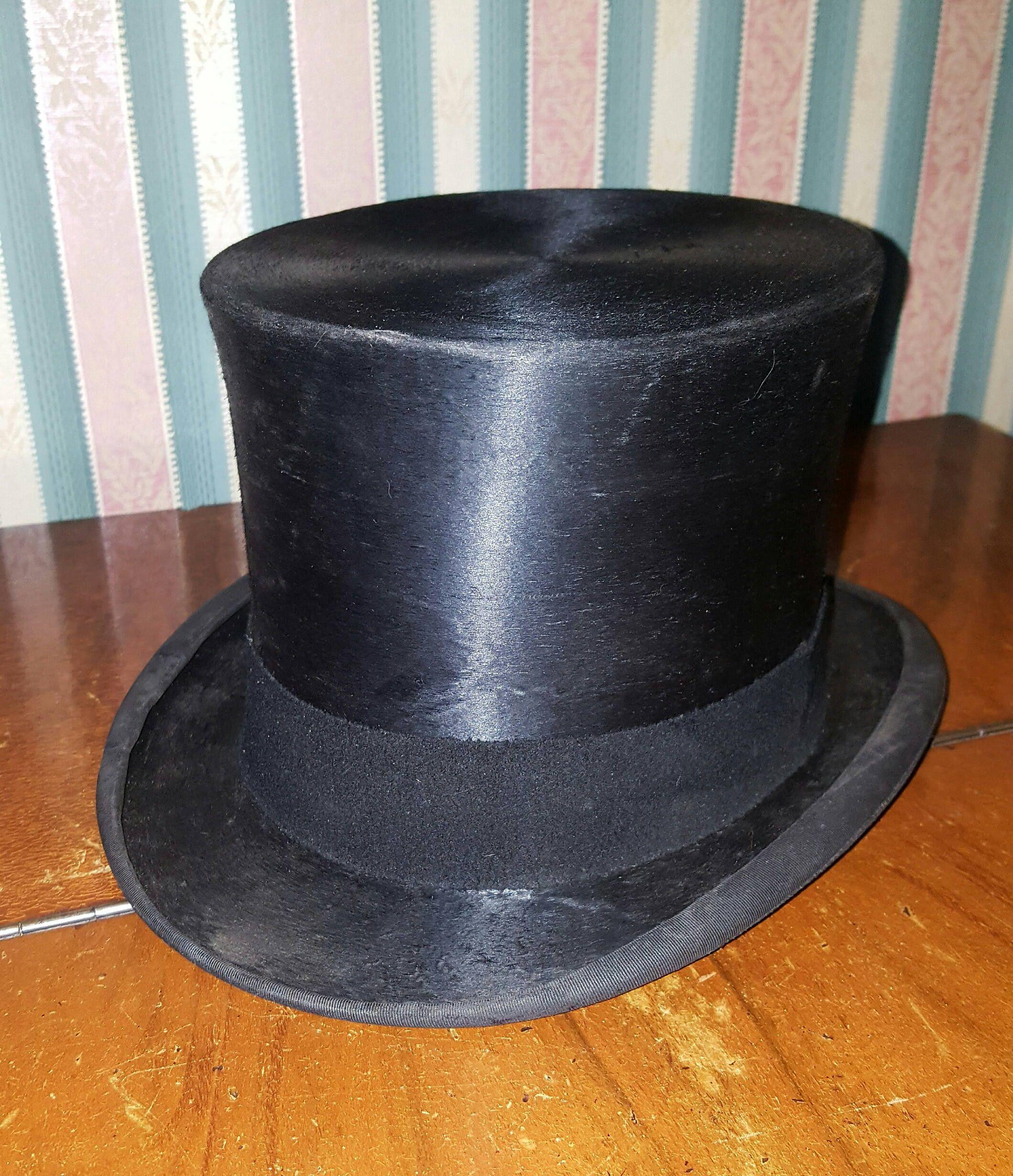 Black Top Hat Hats /& Co